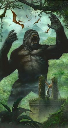 King Kong Artwork
