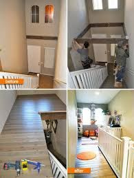 Using the space above stairwell