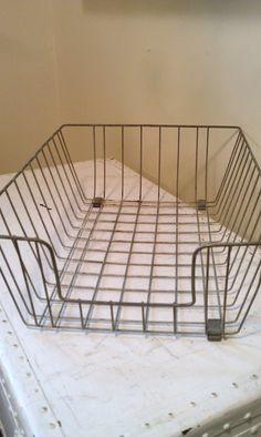 Extra Large Vintage Wire Basket