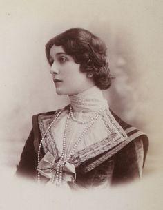 Italian Opera Singer Lina Cavalieri, 1900s