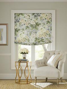 Highgrove Linen Print, Mayfair Cotton Stripe and Claredon Armchair