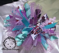Hey, I found this really awesome Etsy listing at http://www.etsy.com/listing/104168400/monster-high-funky-loopy-bow-headband