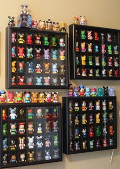 Shot Glass Vinylmation Display Cases
