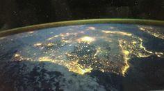 Astronauta da NASA felicita Portugal com foto tirada do espaço | Blogue alien's & android's