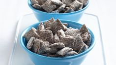 Buddy up to a crunchy Chex® snack with all-time favorite chocolate and peanut butter flavors!