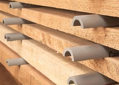 "Plastic Stickers Dont Stain - Woodworking Shop - American Woodworker ""I use plastic conduit to make stickers for stacking and drying my wood. These stickers provide consistent spacing and excellent air circulation with minimal contact. I've never had problems with insects, mold or staining, which can occur around wooden stickers, especially when the wood is green and the air is damp."""