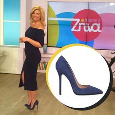 We <3 Zina Koutselini in sexy suede pumps from our eshop!