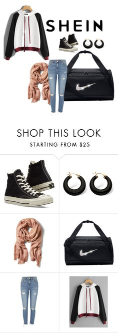 """""""Flaws"""" by cutelove-2 ❤ liked on Polyvore featuring Converse, Palm Beach Jewelry, NIKE and River Island"""