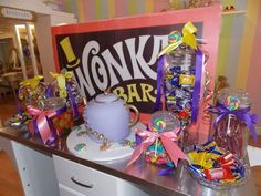 Willy Wonka Party #wonka #party