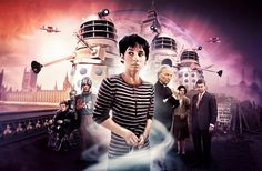 Doctor Who The Dalek Invasion of Earth World's End Doctor Who Books, Doctor Who Art, I Am The Doctor, First Doctor, Sci Fi Tv Series, William Hartnell, Classic Doctor Who, Sci Fi Horror, Dalek