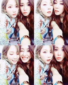 Adorable backstage clips and pictures of SNSD's TaeYeon, Tiffany, and Friends ~ Wonderful Generation