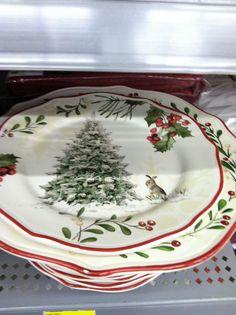 At Walmart Better Homes u0026 Gardens 2012. Christmas DinnerwareAt ... & Better Homes and Gardens 12-Piece Dinner Plate Set Holiday Assorted ...
