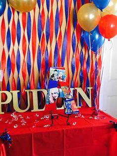 Harley Quinn Party Ideas