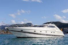 SUNSEEKER PREDATOR 63 - FOR SALE - High performance offshore sports cruiser. The Predator we have for sale, built in 1996, has been very well looked after by her first owner from new and has had several upgrades in 2014 and 2015. She has teak laid side decks, a teak laid cockpit with sliding sunroof, a sunbathing area on fore and aft deck, three ample cabins and 2 head compartments. Powered by Twin MAN 1.100hp diesel engines. Contact us for the full spec list