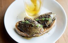 Duck Liver Toast