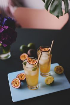 Emily Salomon » Fredagscocktail: Ginger Ale Passion