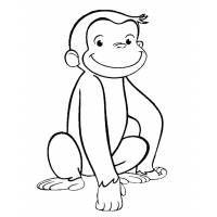 Scimmietta George Disegni Disegni Da Colorare Disegno Per Bambini