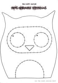 free owl cushion pattern - Google Search