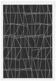 patternbase:  Marc Nagtzaam - Protest Pieces One / 2011 / 62,1 x 41,2cm