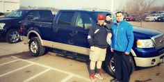 Our longtime friend Chris came in and got the truck he's been longing for.   It couldn't be a better season for a new truck.   Does anyone have any good names for Chris' new truck? Suggest below.   --- Krogie and Digs Special Finance Team: Our mission is to help you, your friends & neighbors find the car of their dreams/needs regardless of credit situation.  Car credit & sales made EZ  krogieanddigs@invergroveford.com www.autocreditmadeez.com  #newcars #usedcar #carsalestwincities 