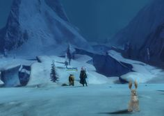 01oXVXy.jpg (945×672)    @Queen_Amy87 shared this bunny photobomb with us.  Guild Wars 2 screenshot photobomb