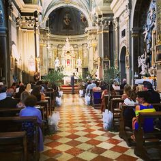 In the church. Udine
