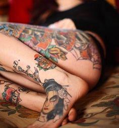 leg/foot tattoo