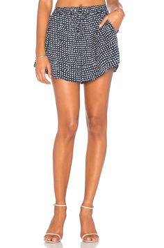 The Fifth Label Party Next Door Short in Painted Polka Dot Print