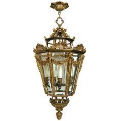 1stdibs   Louis XVI Style Bronze Lantern (GMD#2713)