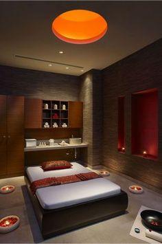 Kaya Kalp- Spa Thai Massage Room, ITC Gardenia, Bengaluru  Great ideas for my massage room in my dream house! #Massages #massageideas