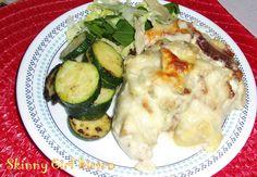 Variation on a theme: Artichoke & Bacon Chicken Alfredo | Skinny Girl Bistro