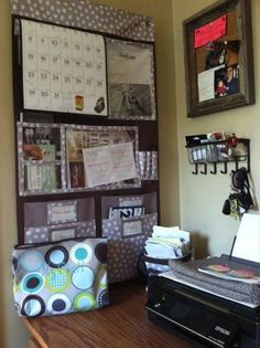 thirty one ideas | Thirty-One Ideas / Thirty-One for your home office!