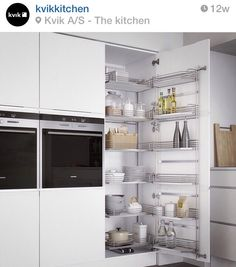 Kitchen storage from Kvik