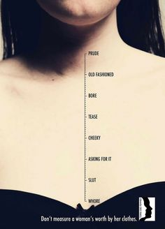 Here's A Scale For Measuring The 'Sluttiness' Of A Woman. Sadly, It Is Grossly Inaccurate