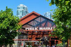 Granville Island Public Market Entrance | © Hayley Simpson
