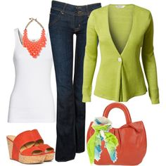 """""""Cool Summer"""" by fiftynotfrumpy on Polyvore"""