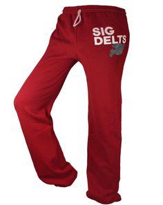 Sigma Delta Tau Sweatpants by Adam Block Design