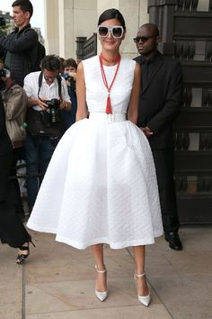 10 pictures that prove Giovanna Battaglia is the queen of street style - HarpersBAZAARUK