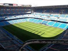 Madrid, Spain! Real Madrid's stadium