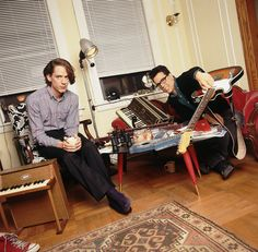 They Might Be Giants. Photo by Lynn Goldsmith. I Have A Crush, Having A Crush, Lynn Goldsmith, Band Photos, Music Humor, Big Picture, Cool Pictures, Songs, My Love