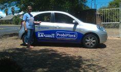 Nicole loves her branded car and Probiflora! Love Her, Campaign, Van, Vans, Vans Outfit