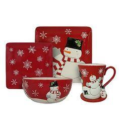 Kohls Christmas Dishes.Pinterest
