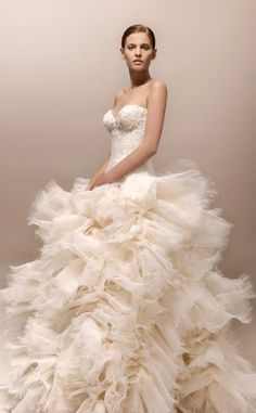 Max Chaoul Couture 2013 Wedding Dress