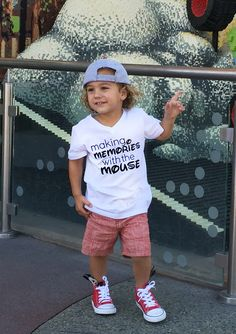 Disney Shirts  Making Memories With The Mouse by BornFabulousKids