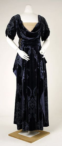 Evening Dress  House of Worth  1910-1911  The MET