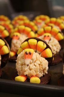 Thanksgiving Desserts: Fun Turkeys and Delicious Crisp | people food