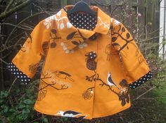 Asymmetrical reversible jacket tutorial and door kitschycookids