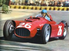 Alberto Ascari, Lancia D50 - Monaco Grand Prix, 1955