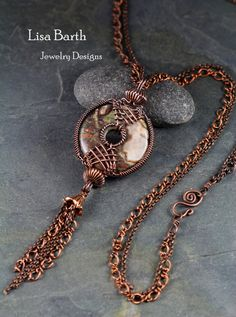 Copper with Jasper here, on a long double chain.