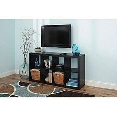 Black tv stand on pinterest tv stands glass tv stand for Better homes and gardens tv show contact